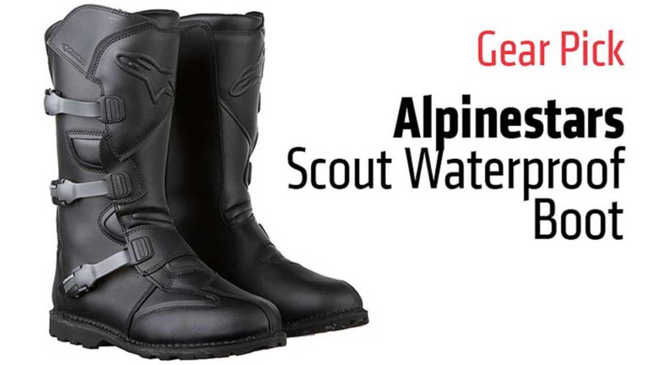 Gear Pick: Alpinestars Scout Waterproof Boot