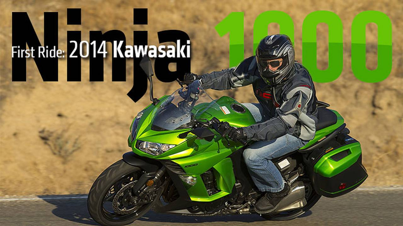 2014 Kawasaki Ninja 1000 ABS Review