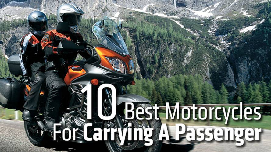 10 Best Motorcycles For Carrying A Passenger