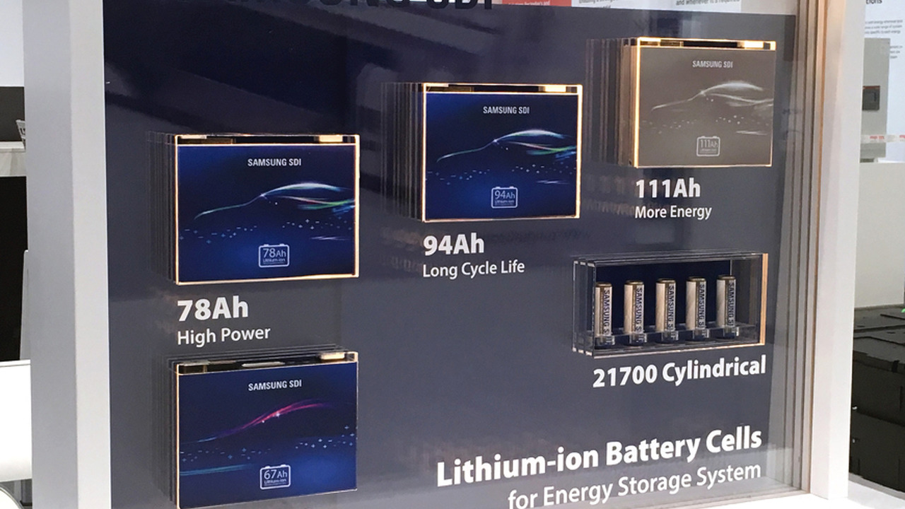 BMW i3 Samsung Battery
