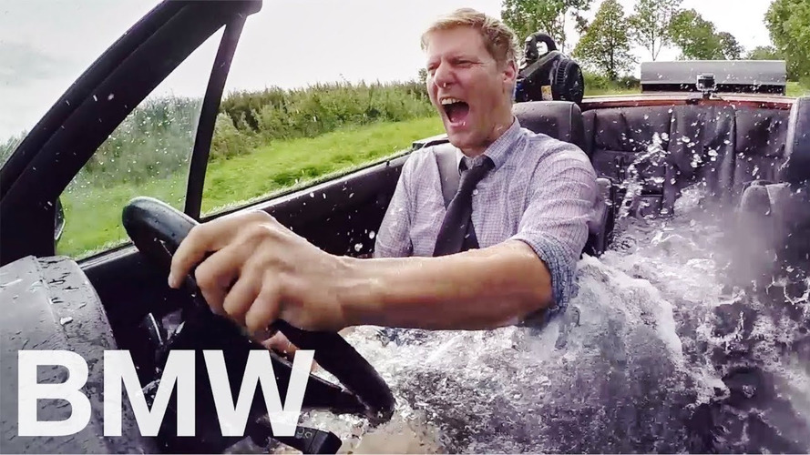 Someone Modified 1989 BMW 325i Cabrio Into Mobile Bathtub