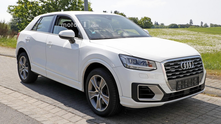 Audi SQ2 Spied Inside And Out Without License Plates