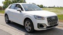 Audi SQ2 2018, fotos espía