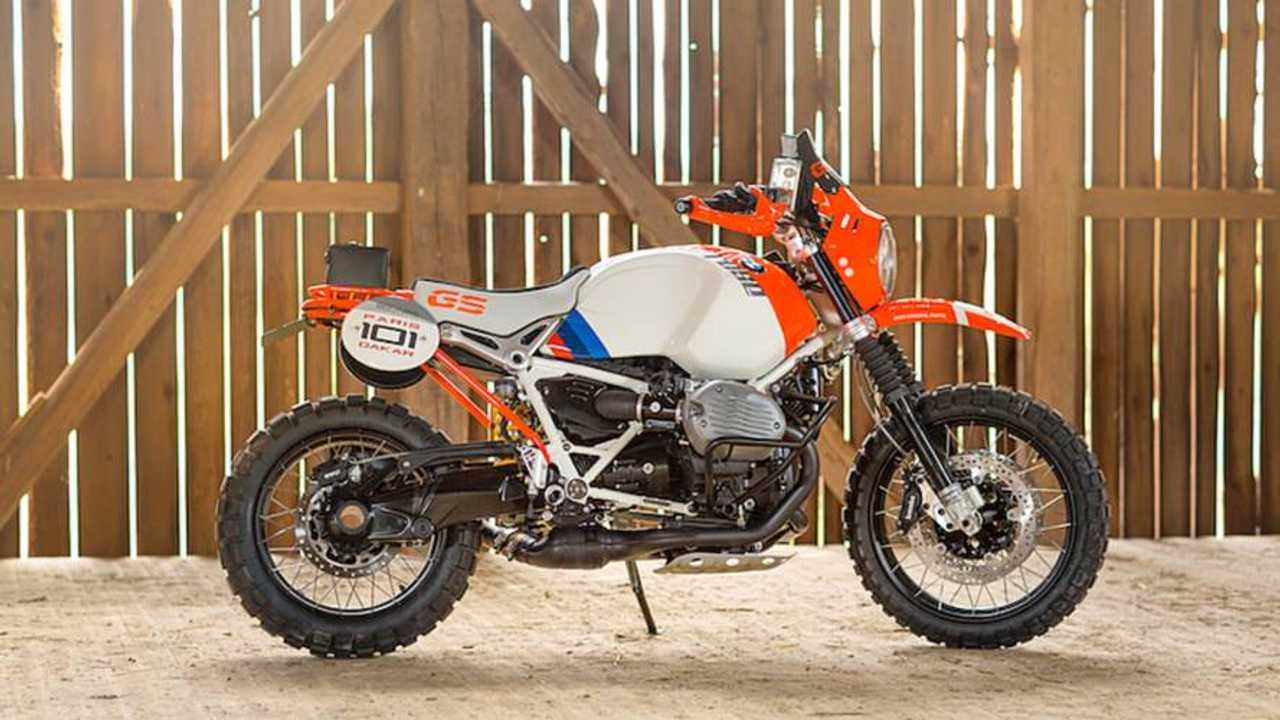 BMW Concept R nine T Honors Paris-Dakar Rally