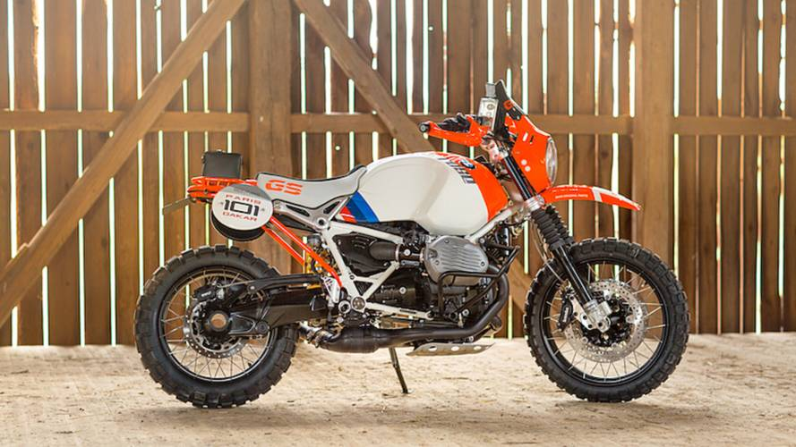 BMW Concept R nine T Honors Paris-Dakar Rally