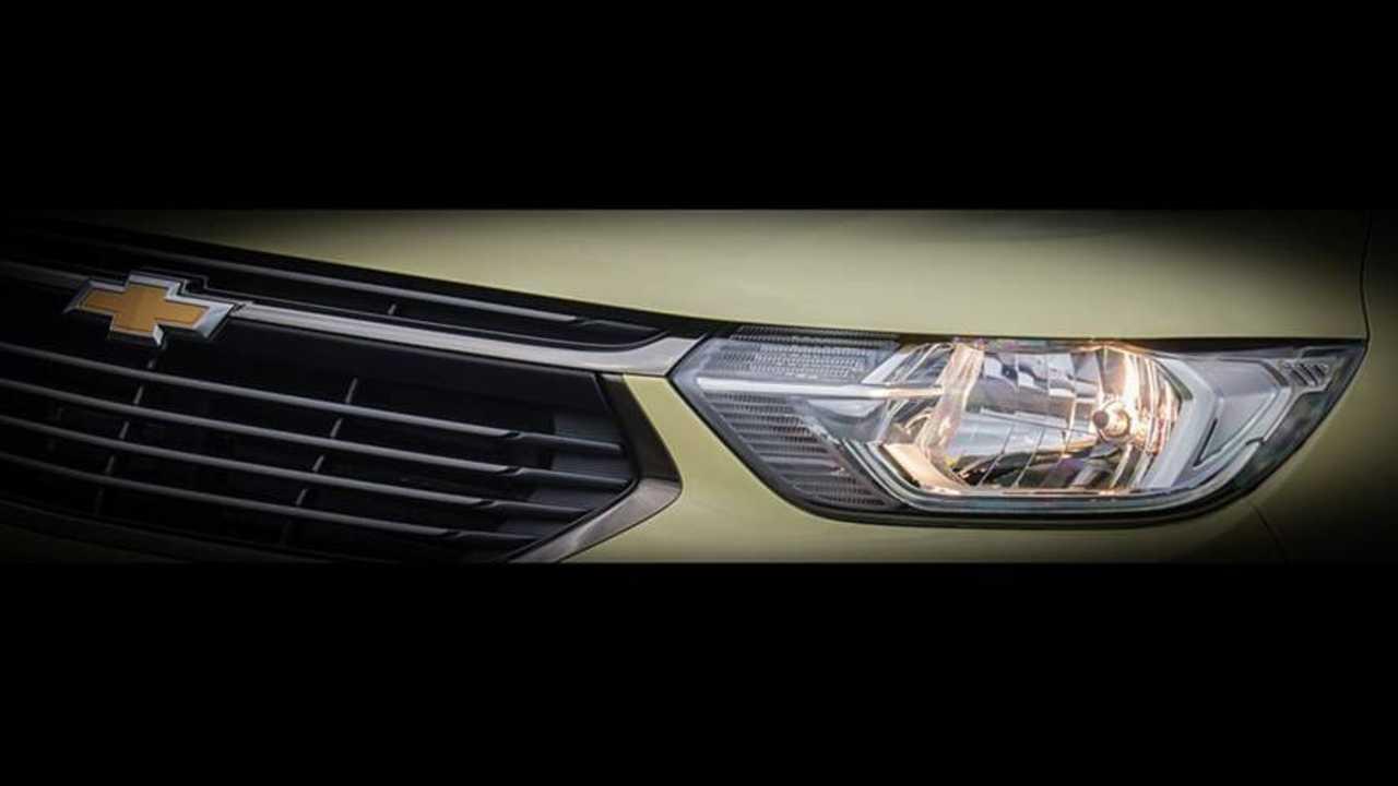 Chevrolet Spin 2019 - Teaser