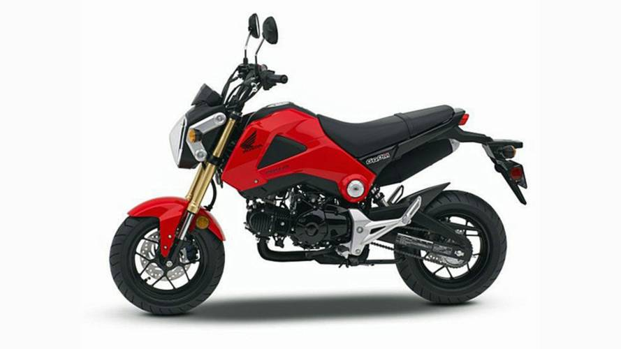 Honda Recalls Certain Grom and NSS300s Models