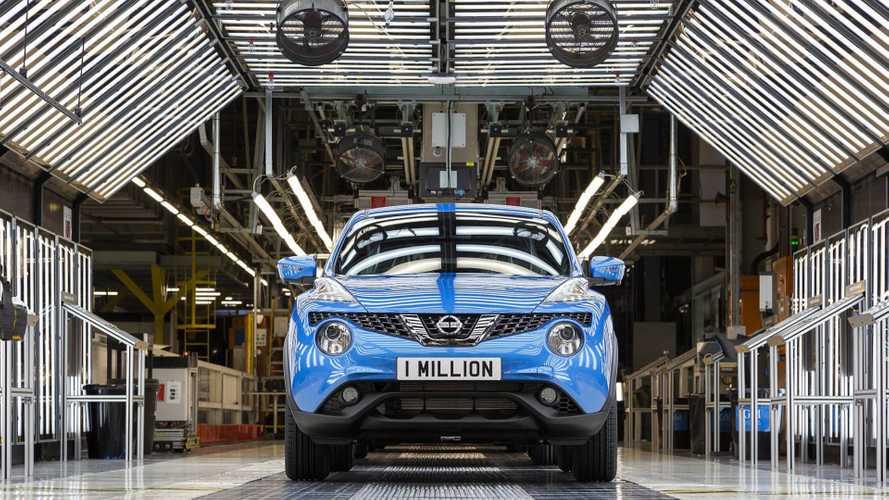 Az egymilliomodik Nissan Juke is legördült a gyártósorról