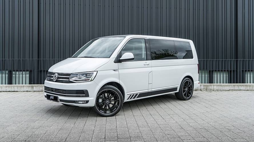 236-Horsepower VW T6 With 20-Inch Wheels Is Not Your Ordinary Van