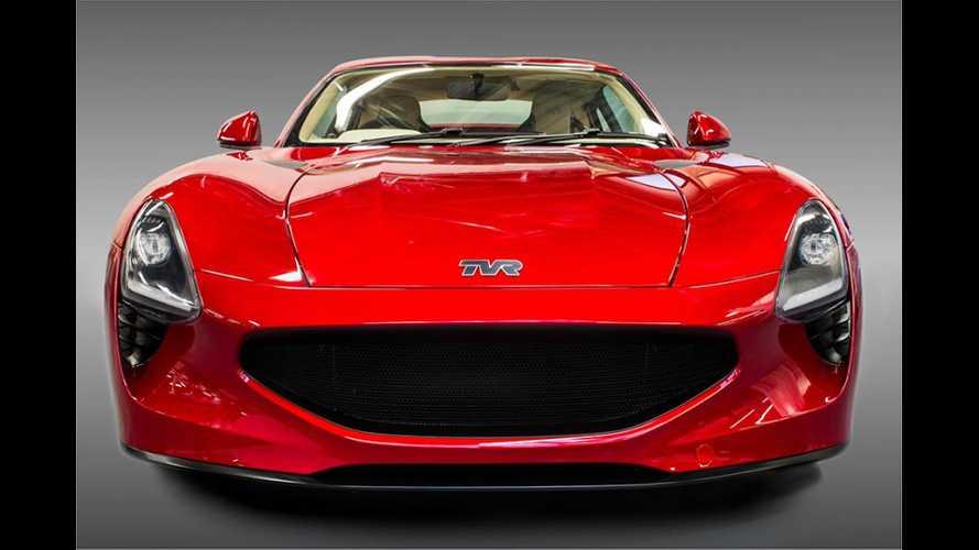 TVR Griffith подает признаки жизни: купе с V8 появится в 2022 году