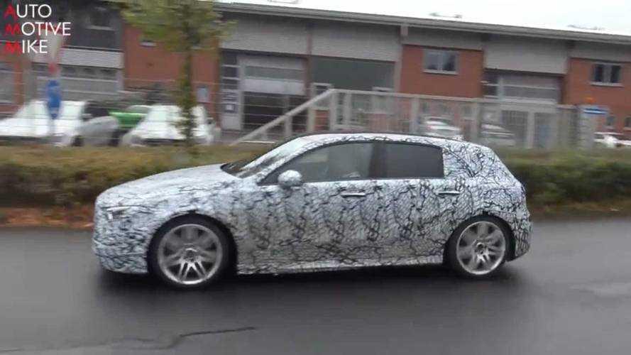 Mercedes Clase A 2018: fotos y vídeo espía en Nürburgring