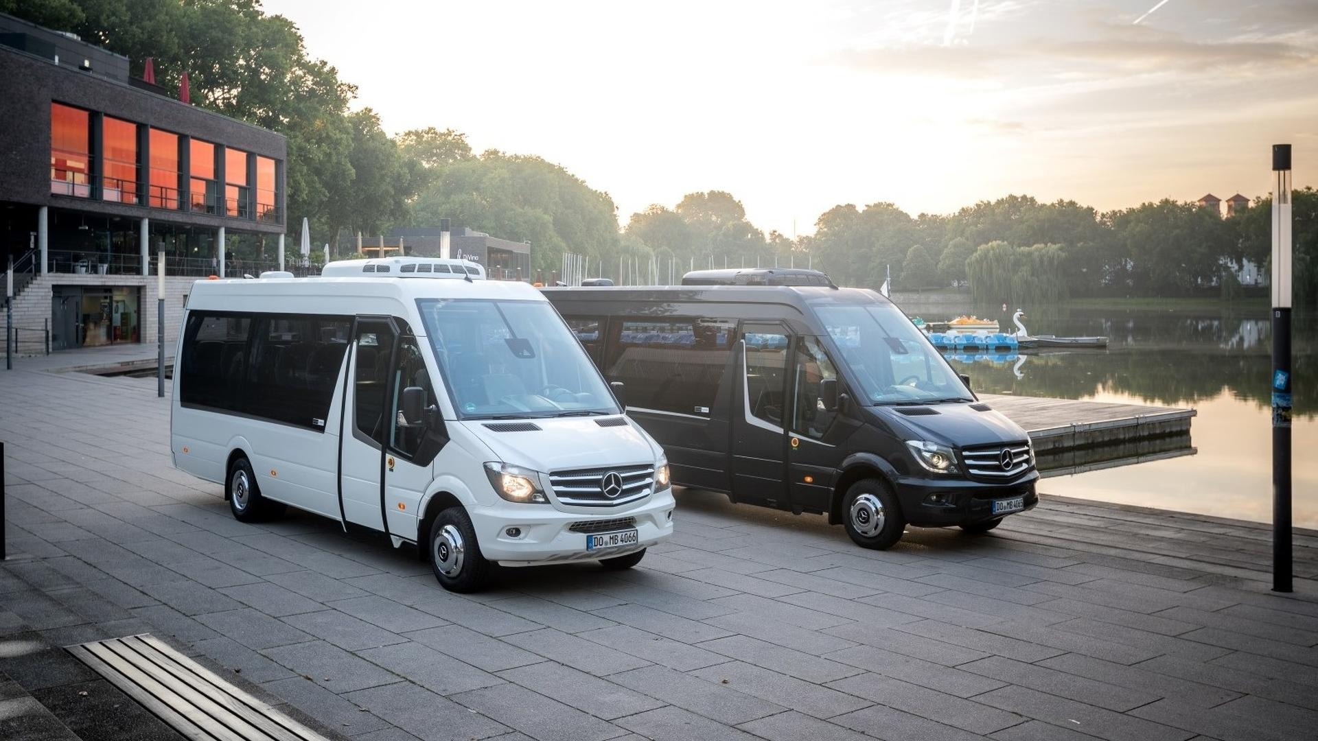 Mercedes Sprinter Minibus Gets Jubilee Edition After 10 Years