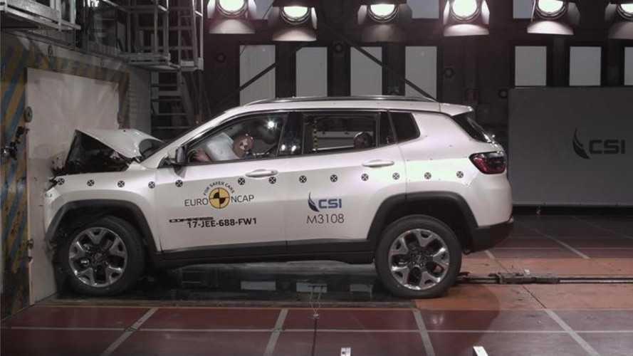 Jeep Compass e Ford Fiesta alcançam 5 estrelas nos testes do Euro NCAP
