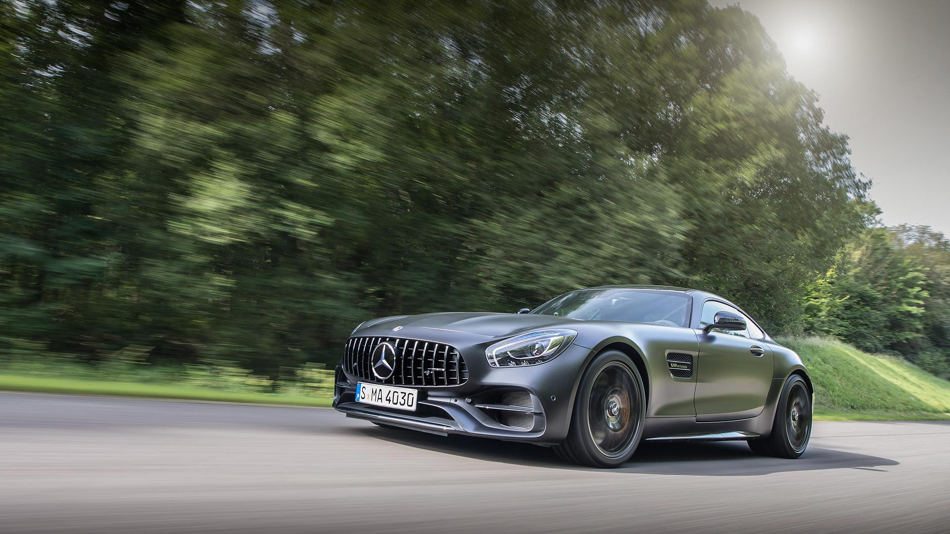 2017 mercedes amg gt c coupe first drive: sports car, muscle car, gt
