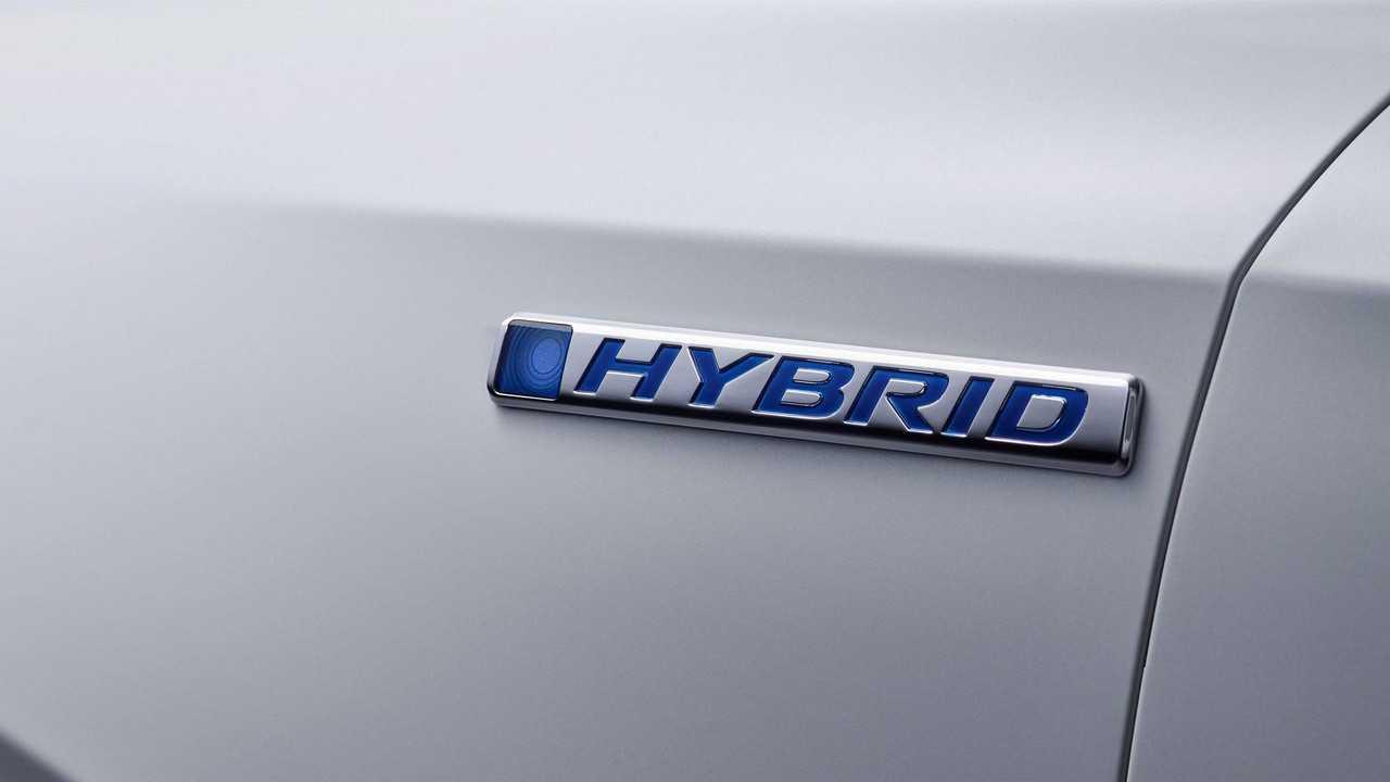 Honda CR-V Hybrid prototype teaser