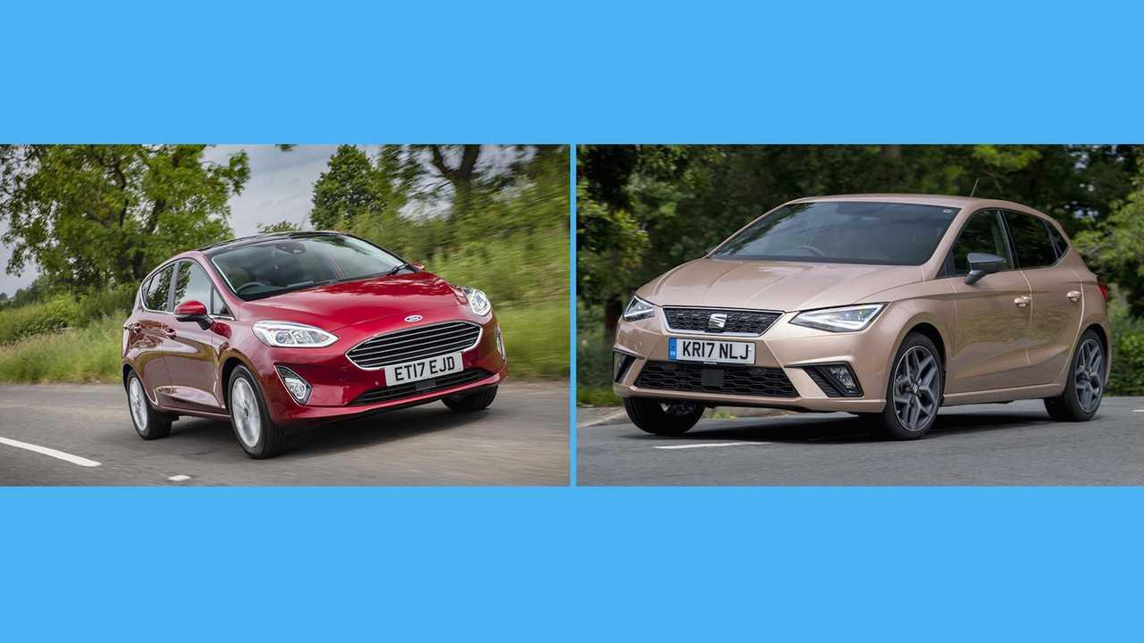 2017 Ford Fiesta vs Seat Ibiza