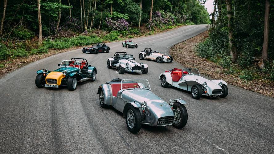 Caterham is WLTP emissions exempt in UK market