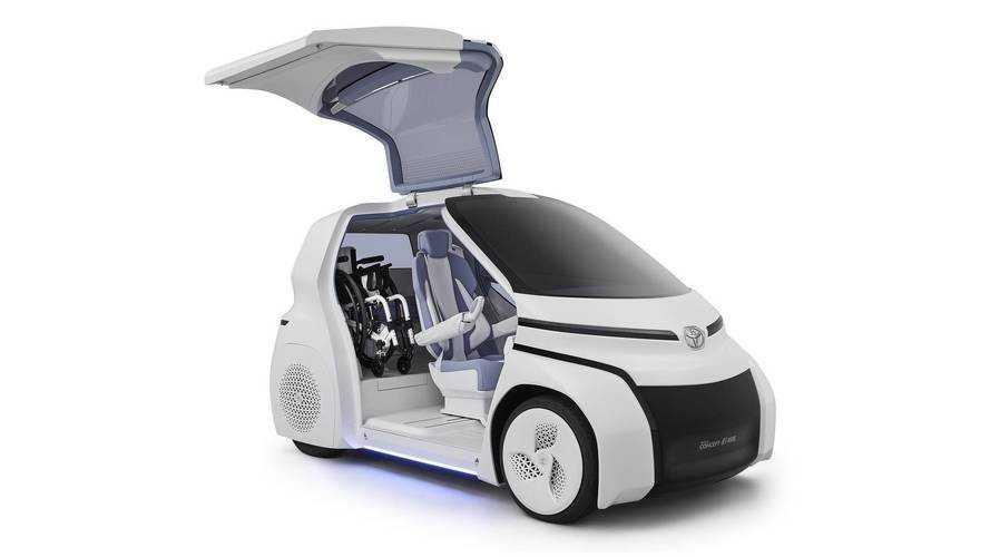 Toyota Concept-i Ride martı kanatlarıyla Tokyo'da olacak