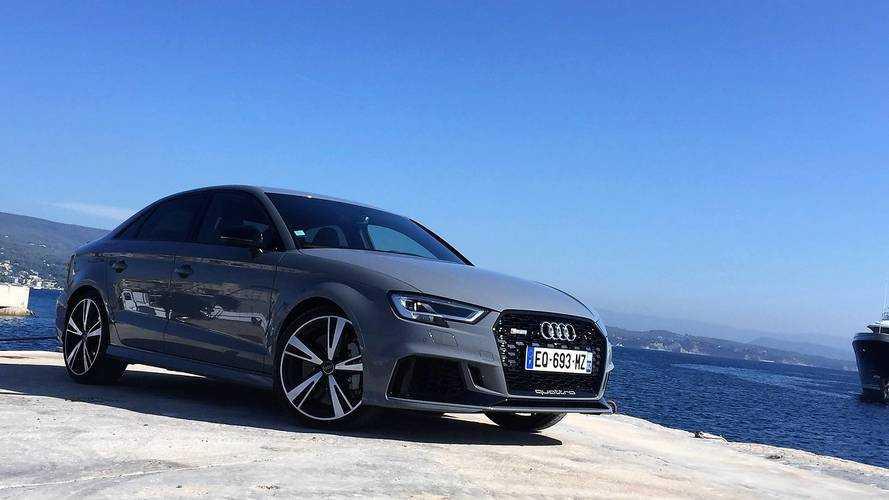 Essai Audi RS 3 (2018) - La preuve par cinq !