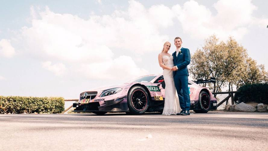 This Mercedes-AMG C63 DTM Is The Coolest Wedding Car Ever