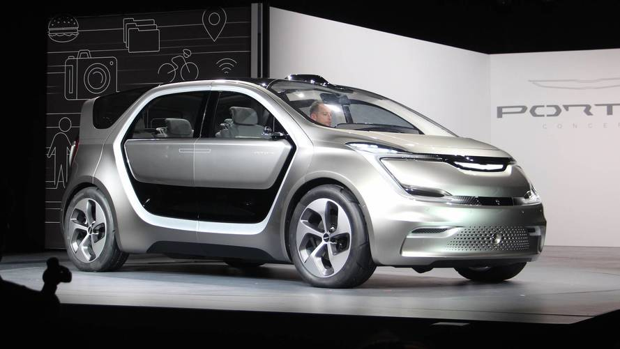 Chrysler Portal Electric Van Confirmed For Production