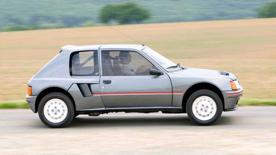 Peugeot 205 T16 1984, coche clásico