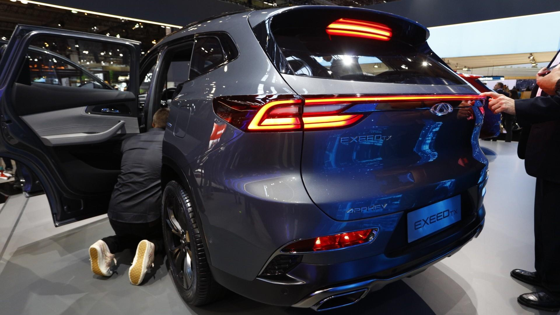 China's Chery Launches In Europe With Exeed Brand, Hybrid SUV