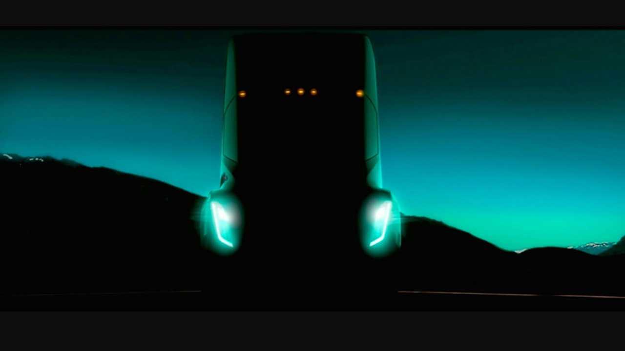 Tesla camión teaser