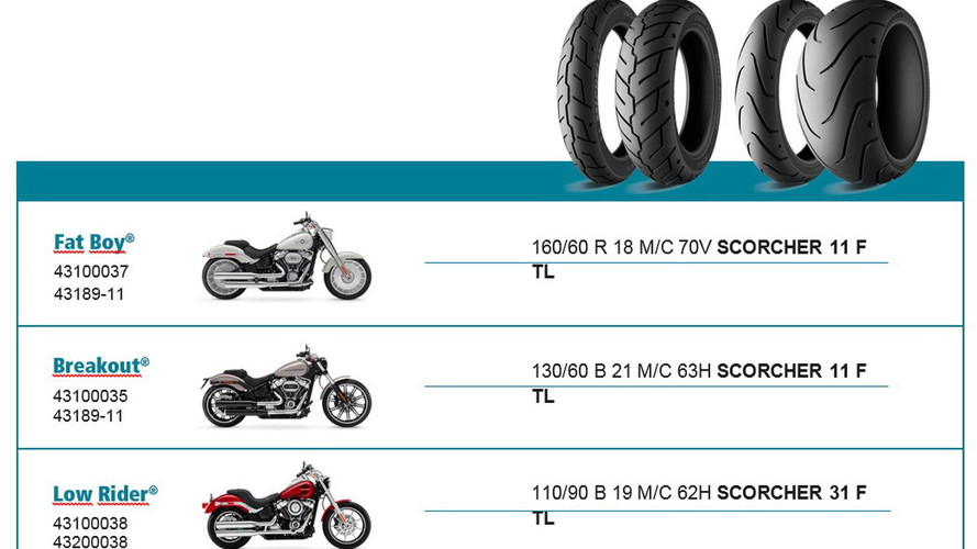 Michelin Scorcher Harley-Davidson Softail 2018