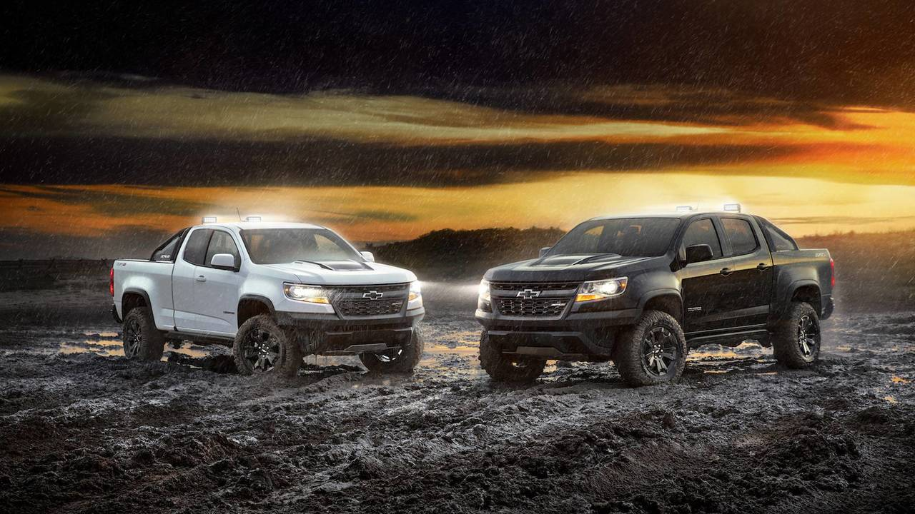 2018 Chevrolet Colorado ZR2 Midnight and Dusk Editions
