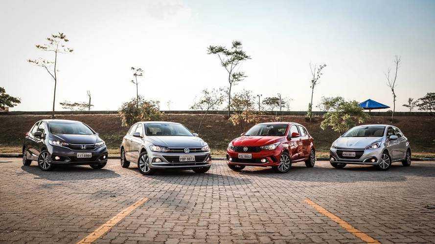 Comparativo - Novo VW Polo desafia Fiat Argo, Honda Fit e Peugeot 208