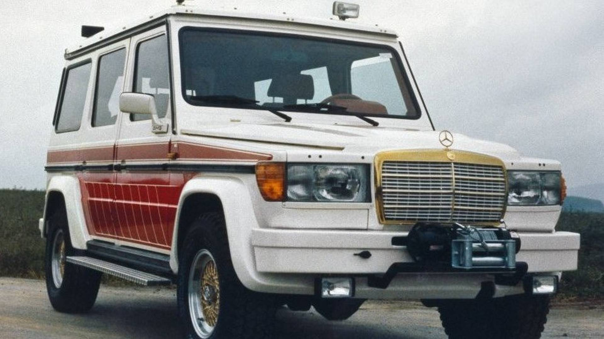 1979 Mercedes AMG G Wagen Proves The 70s Were Weird And Awesome