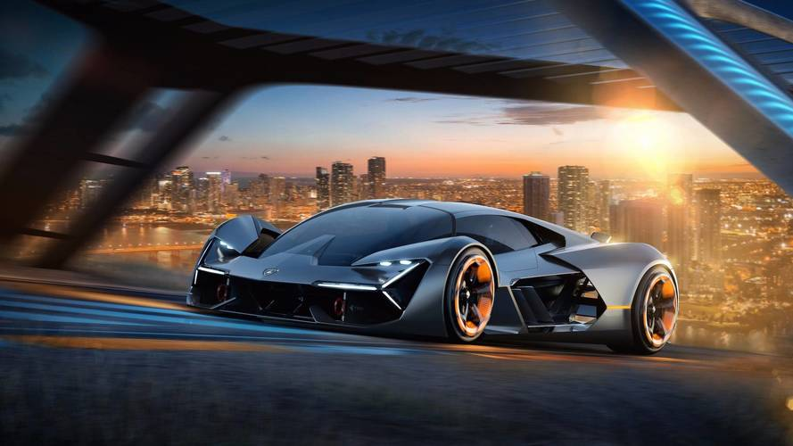Lamborghini shows off Terzo Millennio concept with tech for 2040