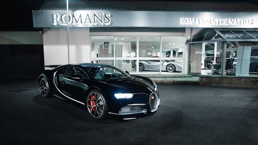 First Used Bugatti Chiron In The UK Costs $4.78M