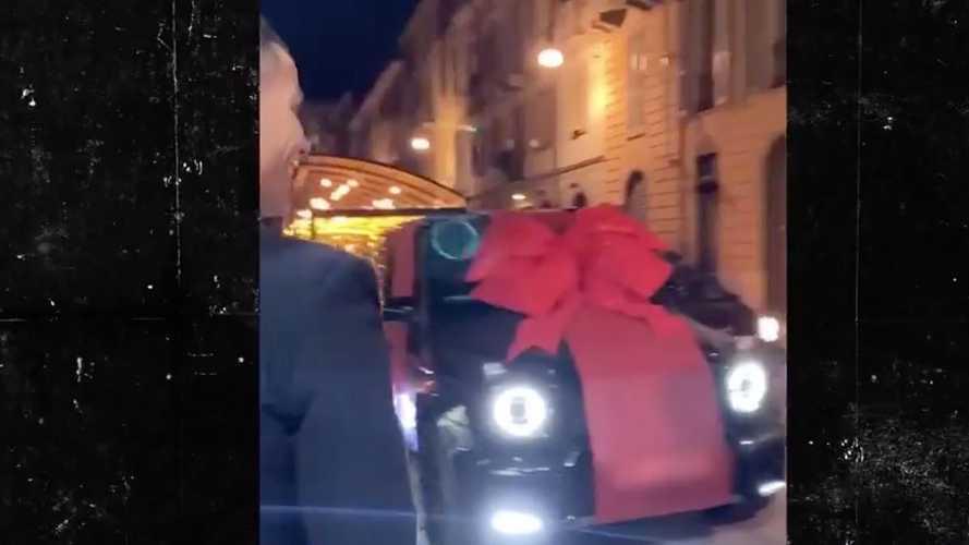 Cristiano Ronaldo Gifted Brabus G V12 900 Mercedes Worth $875K