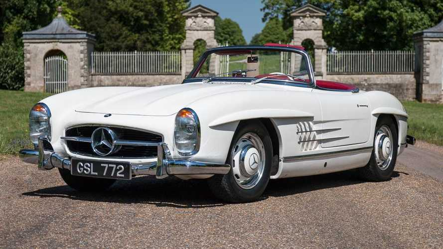Mercedes 300SL first to join Silverstone Classic auction