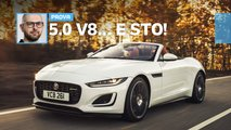 jaguar f type restyling prova foto video