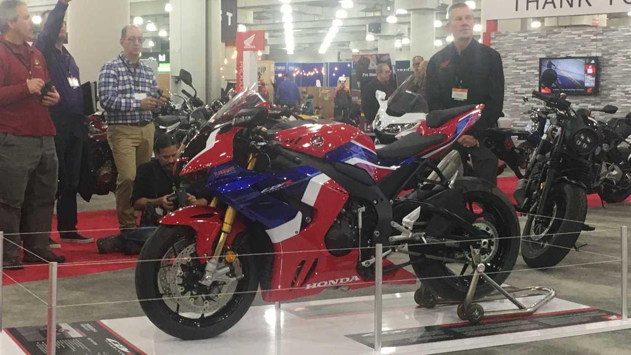 2021 Honda CBR1000RR-R Fireblade