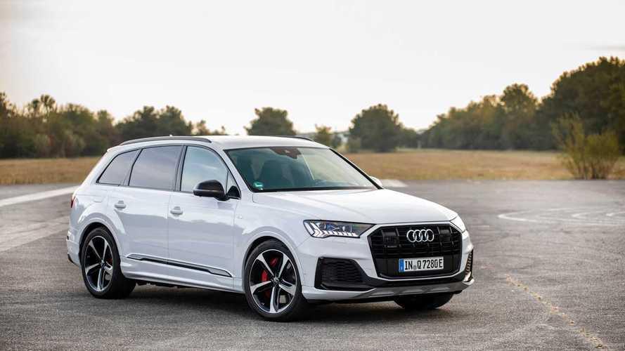 Audi Q7, ora l'ibrida plug-in fa fino a 49 km in elettrico