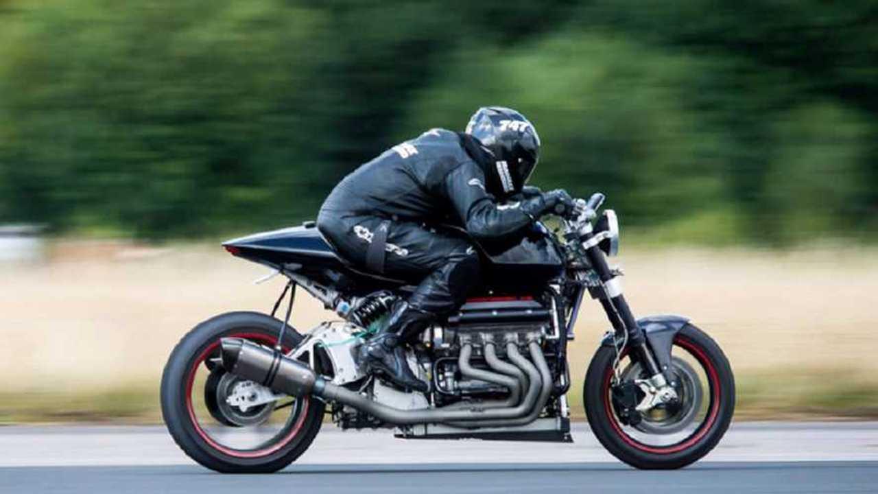 Zef Eisenberg V8 Motorcycle