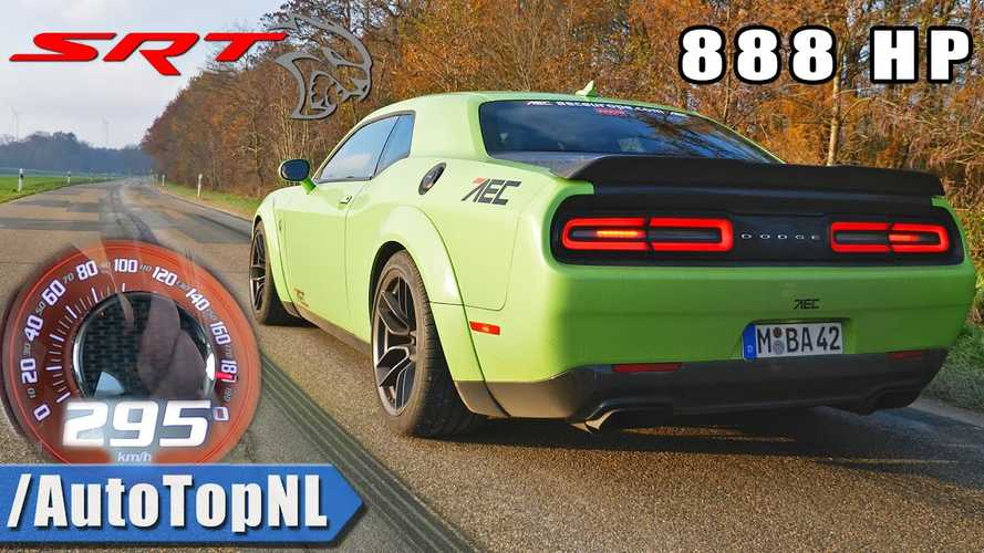 See 888-HP Dodge Hellcat XR Accelerate Like There's No Tomorrow