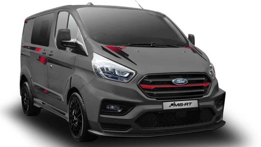 Ford Transit Custom sings new tune with limited-edition MS-RT mods