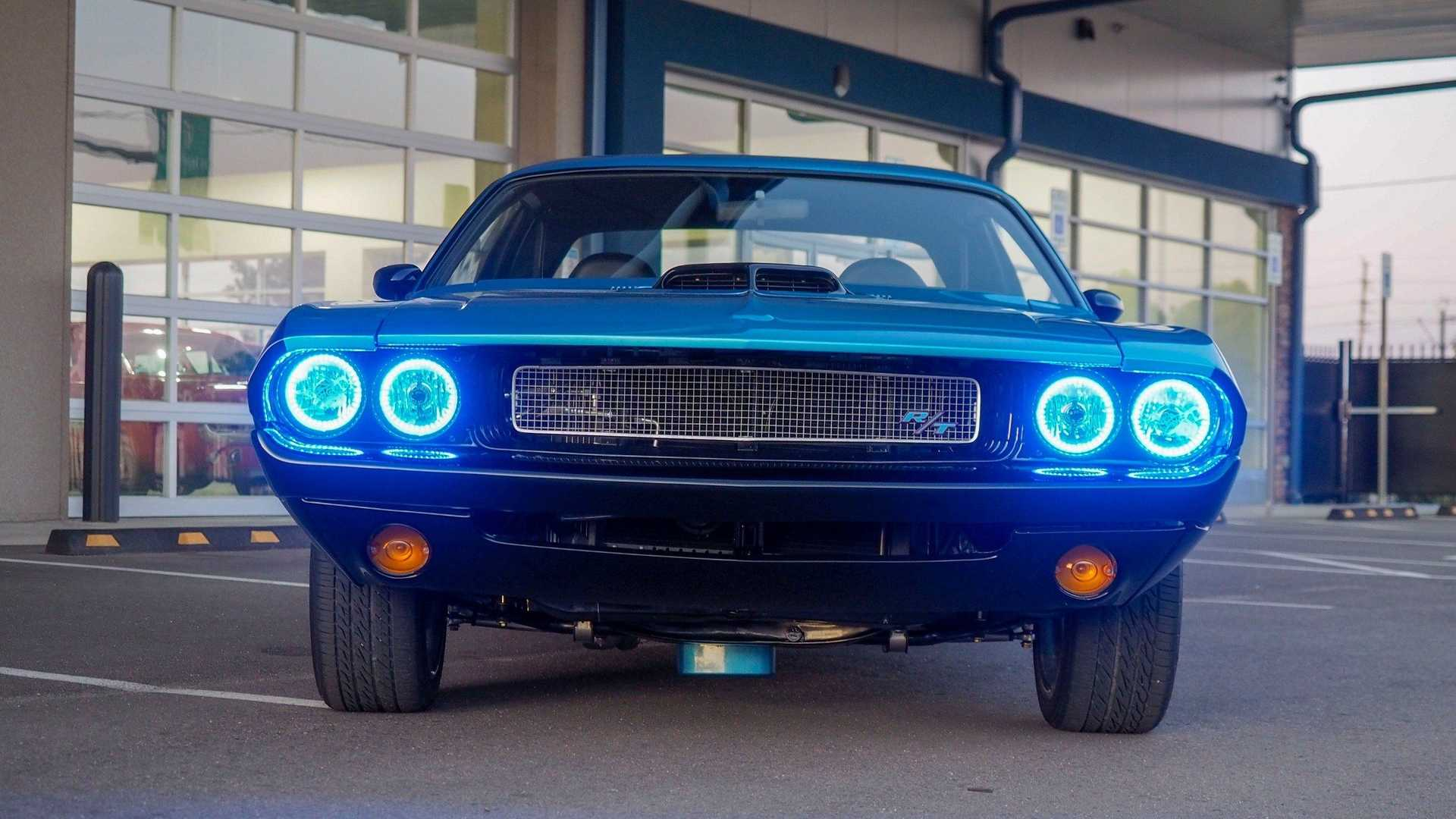 "[""Snag A Show-Stopping 1970 Dodge Challenger Restomod""]"