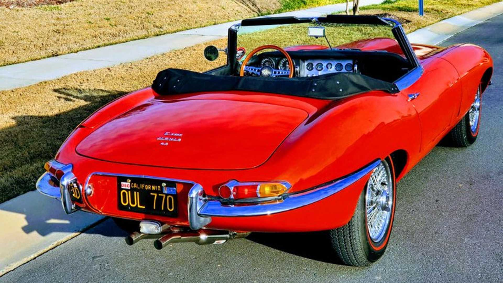 """[""""Restored, Two-Owner 1965 Jaguar XKE Is Concours Ready""""]"""