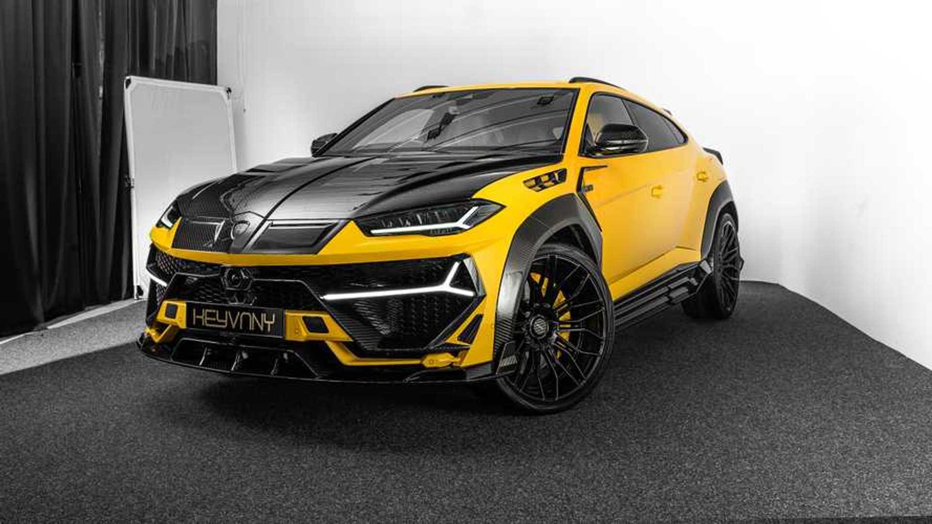 Esta Preparacion Del Lamborghini Urus Alcanza Los 820 Cv Y 325 Km H