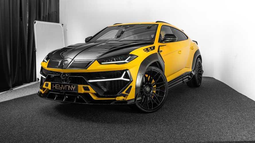 Esta preparación del Lamborghini Urus alcanza los 820 CV y 325 km/h