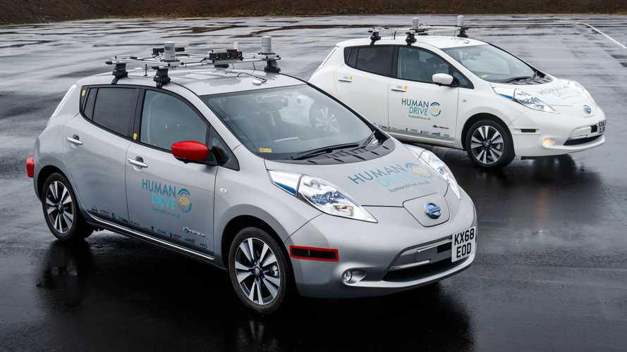 Driverless Nissan Leaf completes UK's longest autonomous journey