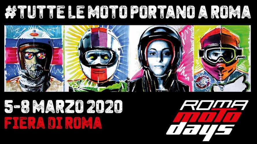 Roma Motodays, tutto pronto per l'edizione 2020