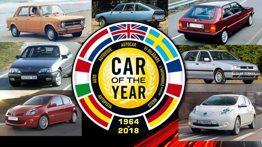 Alle Autos des Jahres seit 1964