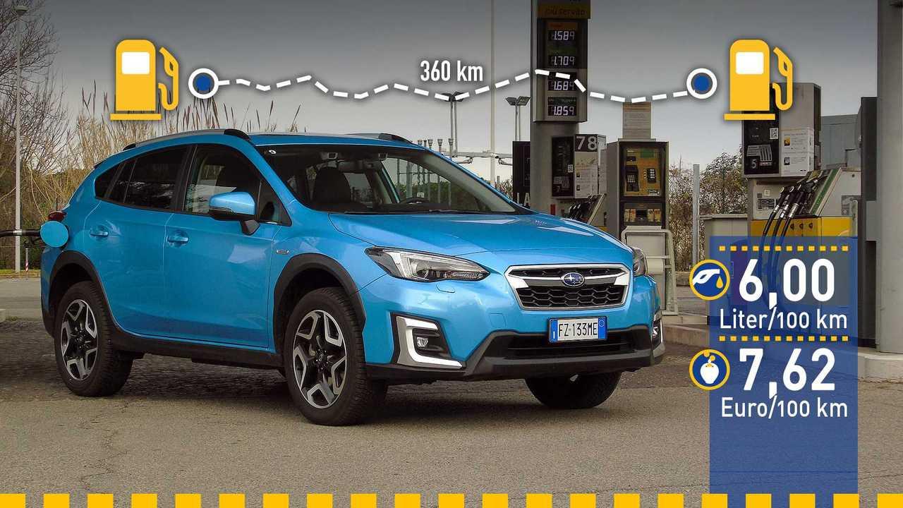 Subaru XV (2020) im Verbrauchstest